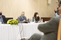 """Υπουργός Γεωργίας – Συνέντευξη ΤύπουΟ Υπουργός Γεωργίας, Φυσικών Πόρων και Περιβάλλοντος κ. Κώστας Καδήςπαραχωρεί συνέντευξη Τύπου για να παρουσιάσει το Πρόγραμμα «Πληρώνω ΌσοΠετώ», στο πλαίσιο της Στρατηγικής Διαχείρισης Αποβλήτων και της ΚυκλικήςΟικονομίας. //Agriculture Minister – Press conferencePresidential Palace, Lefkosia, CyprusThe Minister of Agriculture, Rural Development and Environment, Mr Costas Kadis,gives a press conference to present the """"Pay as you throw"""" Scheme, within theframework of the Waste Management and Circular Economy Strategy."""